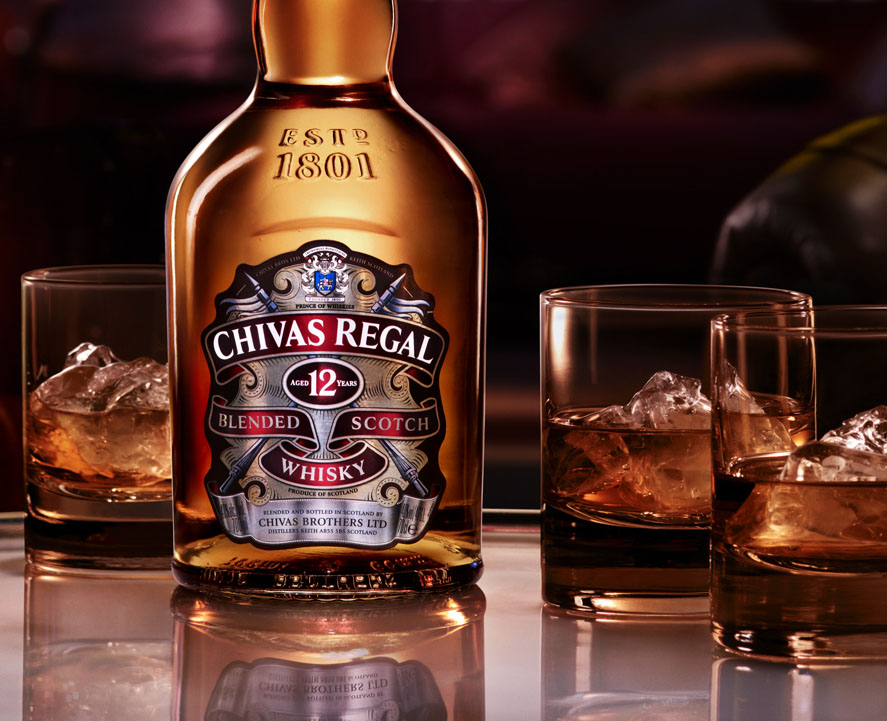 Cách thưởng thức rượu Chivas