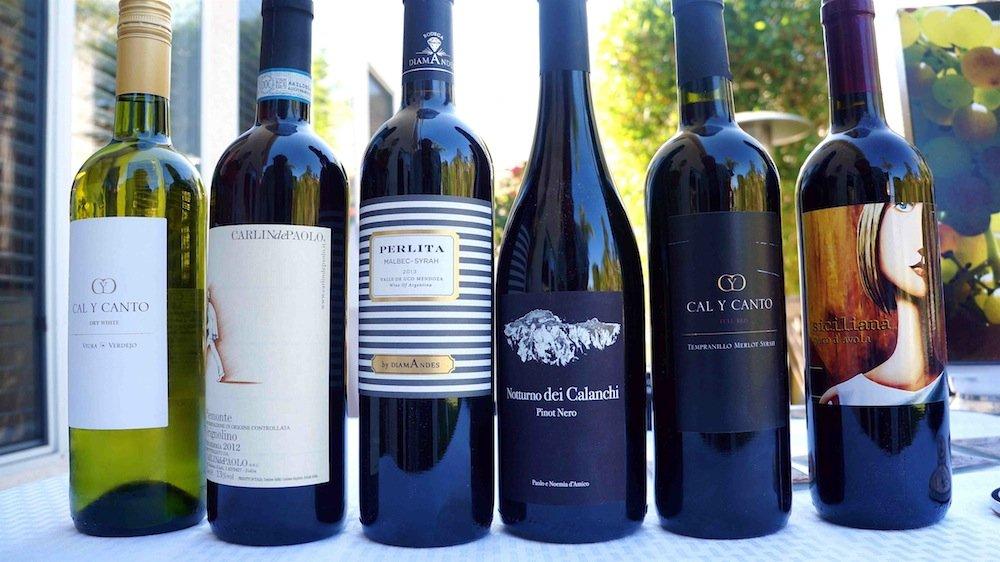 Tổng hợp các loại rượu vang