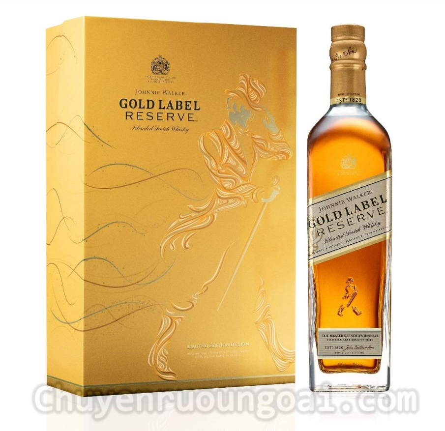 Johnnie Walker Gold Label Hộp Quà Tết 2019