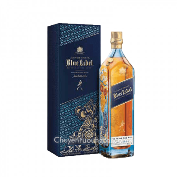 Johnnie Walker Blue Label Hộp Quà Tết 2020 Limited Edition